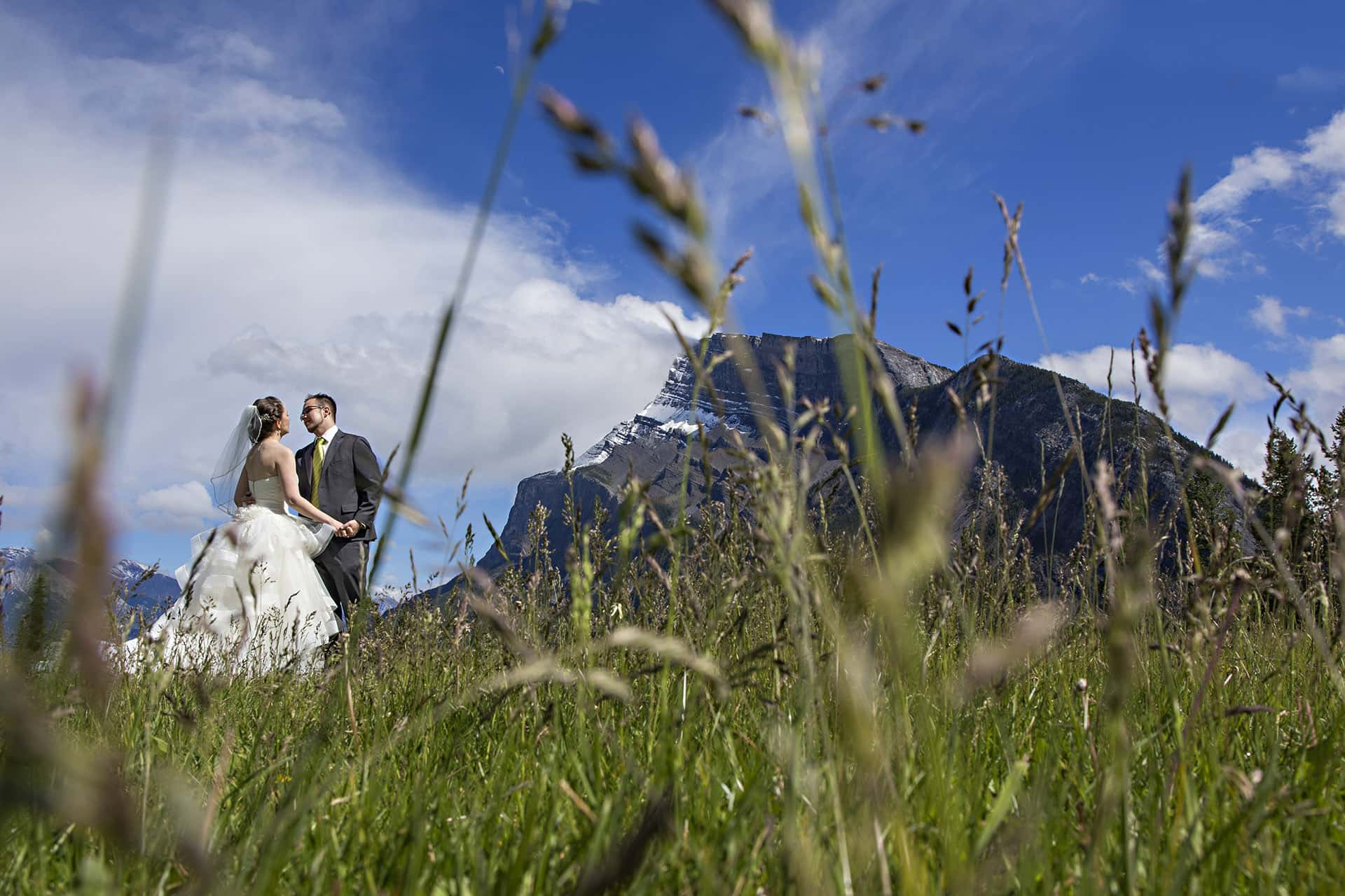 Weddings at Buffalo Mountain Lodge in Banff National Park