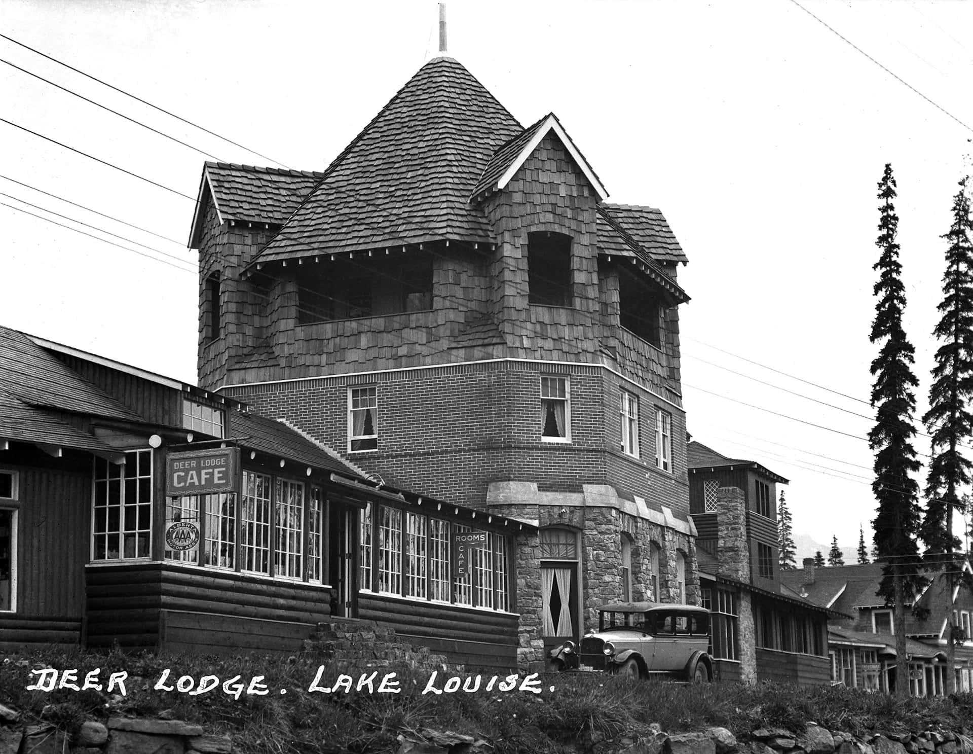 History at Deer Lodge in Lake Louise