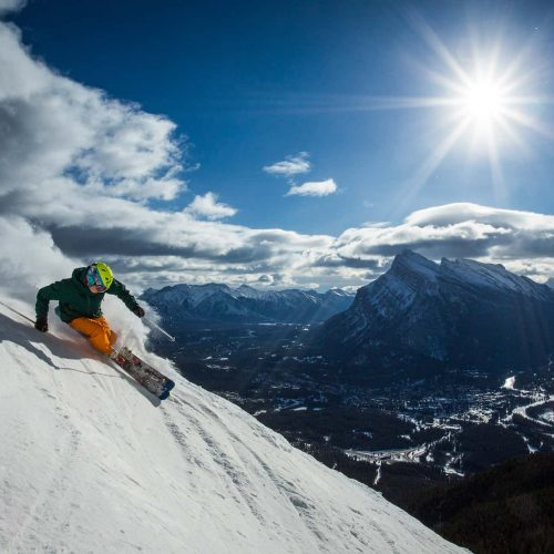 Mount Norquay skiing
