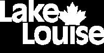 Lake Louise Ski Resort Logo in White